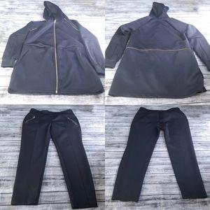 Fabletics Livia Jacket Pants Outfit